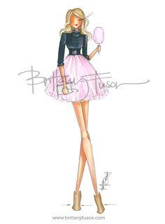 Brittany Fuson // Beautulleful // custom brand image www.brittanyfuson.com