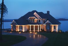 All About Landscape Lighting   Pinterest   Porch columns, Bullet and ...