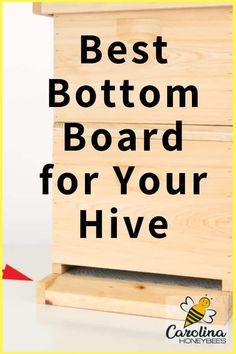 Tips for choosing the best bottom board for your bee hive