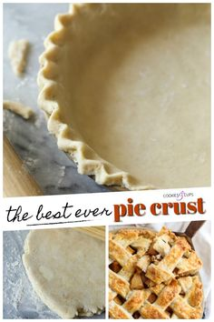 The Best Ever Pie Crust-This tried and true Pie Crust Recipe makes the most tender, flaky pie crust ever! This is an all butter pie dough with all the foolproof tips and tricks you need to make the best pie crust ever, perfect for all your pies! Pie Crust From Scratch, Easy Pie Crust, Homemade Pie Crusts, Pie Crust Recipes, Flaky Pie Crusts, Flaky Pie Crust Recipe Crisco, Pecan Pie Recipe From Scratch, Best Pie Crust Recipe With Butter, Flaky Empanada Dough Recipe