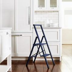 Organize and clean your home with rugged storage shelves, slim ladders, step stools, dusting kits and robotic vacuums. Kitchen Step Ladder, Kitchen Step Stool, 3 Step Stool, Pool Table Accessories, House Accessories, Aluminium Ladder, Apartment Hacks, Studio Apartment, Deep Seat Cushions