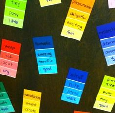 Colorful vocabulary
