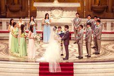 Bridesmaids & groomsmen    Event Planning, Styling & Design: Manna Sun Events   www.mannasunevent...   Photo: VID STUDIO