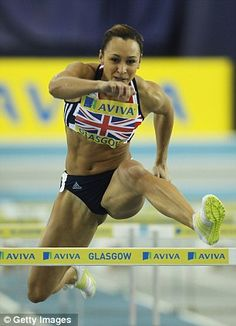 Jessica Ennis is always working hard: training to win heptathlon gold at London battling to break Denise Lewis's British record - and trying to keep people's noses out of her shopping trolley. Jessica Ennis, Heptathlon, Female Athletes, Women Athletes, Beautiful Athletes, Athletic Girls, Artistic Gymnastics, Olympic Sports, Female Gymnast