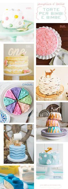 Arriva la cicogna: Semplice e' bello: le mie torte di compleanno preferite