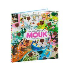 Quel plaisir de retrouver Mouk et Chavapa dans leur grand tour du monde ! Voici 48 pages de jeux et d'aventures pour accompagner nos deux amis et découvrir le monde en s'amusant : cherche et trouve, labyrinthes, jeux des 7 différences, points à relier, sudokus, coloriages... Autant de grands classiques ici joyeusement réinterprétés et transposés dans l'univers coloré et chaleureux de la série animée Mouk.