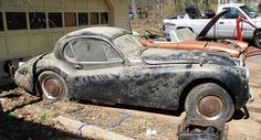 Timeless Jaguar XK120 Looking For A Loving Owner To Restore It To Its Former Glory