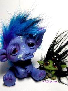 Monster Trollfling and Little Witch Troll  http://trollflings.com