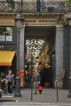 Passage des Panormas, Paris II  I loved going shopping here back in 2000!!!