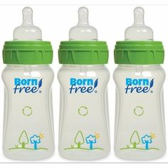 Born Free 9 Oz. Decorated Bottle 3-Pack