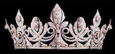 Tiara of Queen Victoria Eugenie of Spain.