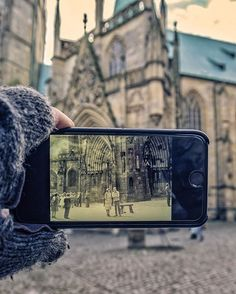 Our decision to visit #Erfurt (#Germany) wasn't made on the spot. ☺️ It was influenced by Mrs. I (P.'s mother), who visited this city in 1980. 🗓 Back in the day Erfurt was a part of Eastern Germany and was probably one of the most Western points an ordinary student from Soviet Union could travel to. ☺️ As Mrs. I remembers though she and her friends were under a lot of restrictions, they always found a way to have a great time and Erfurt remained as one of the nicest places she visited back…