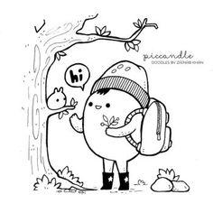 New Friend ~ Doodle [Mini Monday #4] by PicCandle