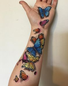 Arm sleeve tattoos for women, butterfly tattoo, dream tattoos, tattoos , Butterfly Tattoo Cover Up, Butterfly Tattoo Meaning, Butterfly Tattoo On Shoulder, Butterfly Tattoos For Women, Best Tattoos For Women, Butterfly Tattoo Designs, Tattoo Designs For Women, Dream Tattoos, Rose Tattoos