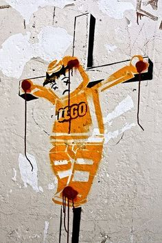#StreetArt : #Lego