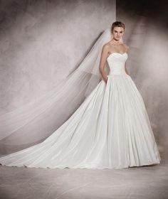 Aurelia - Brautkleid aus Taft im Meerjungfrau-Stil