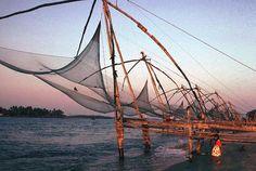 Fishing-Nets, Cochin, India