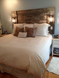 Beautiful Bedrooms: 13 Best Bedroom Ideas to Choose These elevated spaces might just inspire you to re-decorate your own bedroom. attempt one of these stylish bedroom decorating ideas. Beautiful Bedrooms For Couples, Small Bedroom Ideas For Couples, Bedroom Decor Master For Couples, Farmhouse Master Bedroom, Master Bedroom Design, Master Bedrooms, Stylish Bedroom, Modern Bedroom, Contemporary Bedroom
