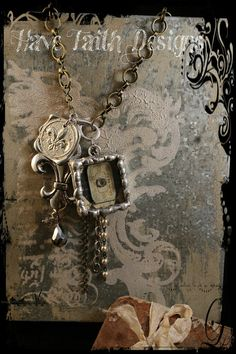 Time in Paris Necklace by HaveFaithDesigns on Etsy