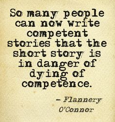 flannery o connor writing short stories pdf