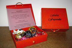 caixa para convite