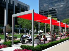 Thomas Balsley Associates' revitalization of Perk Park transformed a neglected area prone to criminal activity into a common ground of pride for the Cleveland community. The park's turnaround shows the role small urban spaces can play in fortifying cities New York Landscape, Urban Landscape, Landscape Architecture, Landscape Design, Architecture Jobs, Landscape Structure, Landscape Materials, Urban Furniture, Street Furniture