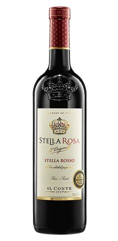 Stella Rosa® is a totally different wine than the rest. It is sweet wine, semi-sweet red wines and sparkling wine bubbly moscato d asti. Stella Rosa Red Wine, Stella Rose, Semi Sweet Red Wine, Sweet Red Wines, Sweet Wine, Red Moscato, Moscato Wine, Wine And Liquor, Wine