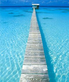 beautiful crystal clear waters