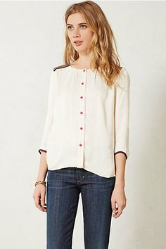 cute button up blouse