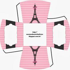 Шаблоны коробочек в парижском стиле / Рукоделие