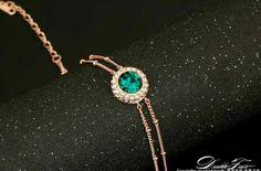 CZ / 18K Rose Gold Bracelet
