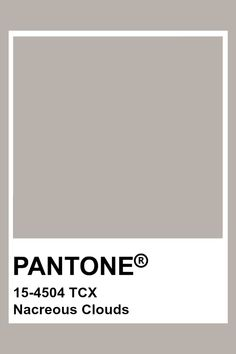 PANTONE 15-4504 TCX Nacreous Clouds