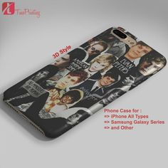 American Horror Story Evan Peters Collage AHS - Personalized iPhone 7 Case, iPhone 6/6S Plus, 5 5S SE, 7S Plus, Samsung Galaxy S5 S6 S7 S8 Case, and Other