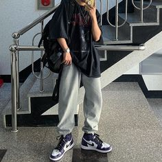 Tomboy Outfits, Teen Fashion Outfits, Tomboy Fashion, Cute Casual Outfits, Dope Outfits, Retro Outfits, Simple Outfits, Streetwear Fashion, Aesthetic Fashion