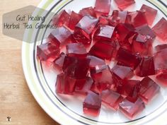 Gut Healing Herbal Tea Gummies - Cinnamon Eats