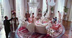 Great Gatsby interior living room