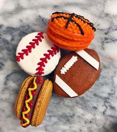 Sports Macarons @therelishsports