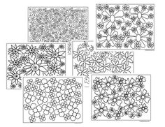 A set of 6 different flower coloring pagesYou may print and distribute as many of these as you would like for personal and classroom use :)Thanks for looking, and have a great day!Copyright 2016 PurpleBeeClassroom