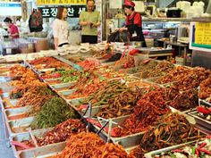 More kimchi than you could imagine. Busan, South Korea.