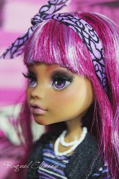 Sakura OOAK Repaint Custom Monster High Doll Clawdeen Mattel by Raquel Clemente | eBay