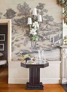 Grisaille On Pinterest Murals Gracie Wallpaper And