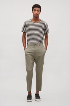 COS | Tapered twill trousers