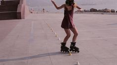 Young Beautiful Girl Rollerblading In A Park. #Active, #Activity, #Adult, #AlexEg, #Exercise, #Female, #Fitness, #Fun, #Girl, #Roller, #Rollerblade, #Rollerblading, #Skate, #Skater, #Skating, #Sport https://goo.gl/SxgJMZ