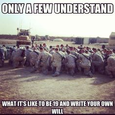 Only a few will understand what it is like to be 19 and write your own will - MilitaryAvenue.com