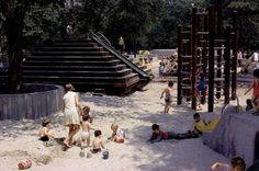 playscapes: Thoughts on Playground Preservation, Central Park, New York City Park Playground, Playground Design, Playground Ideas, Metropolis Magazine, Piedmont Park, Outdoor Play, Park City, Central Park, New York City