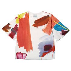 Paints Top by SNDCT £233 #fashion #print