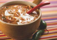 Spicy Chicken Tortilla Soup ..going to figure out a way to make a gf tortilla soup