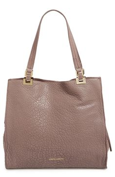 Vince Camuto 'Adela' Leather Tote