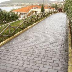 Ein Weg So Schön Wie Antikes Pflaster   Und So Haltbar Wie Beton