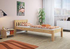 stabiles Holzbett im Futonstil - ideal als Jugendbett oder Gästebett. Du kannst damit auch klasse deine Studentenwohnung einrichten. Betta, Toddler Bed, Storage, Furniture, Home Decor, Wooden Double Bed, College Apartments, Bedroom, Child Bed